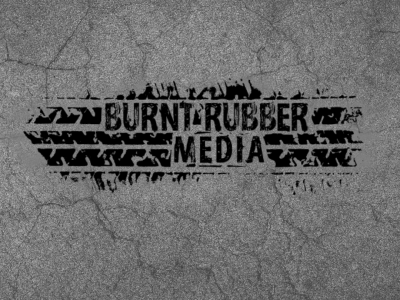 Burnt Rubber Media Logo Design