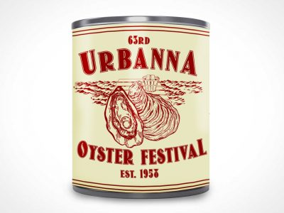 Urbanna Oyster Festival Oyster Can Design